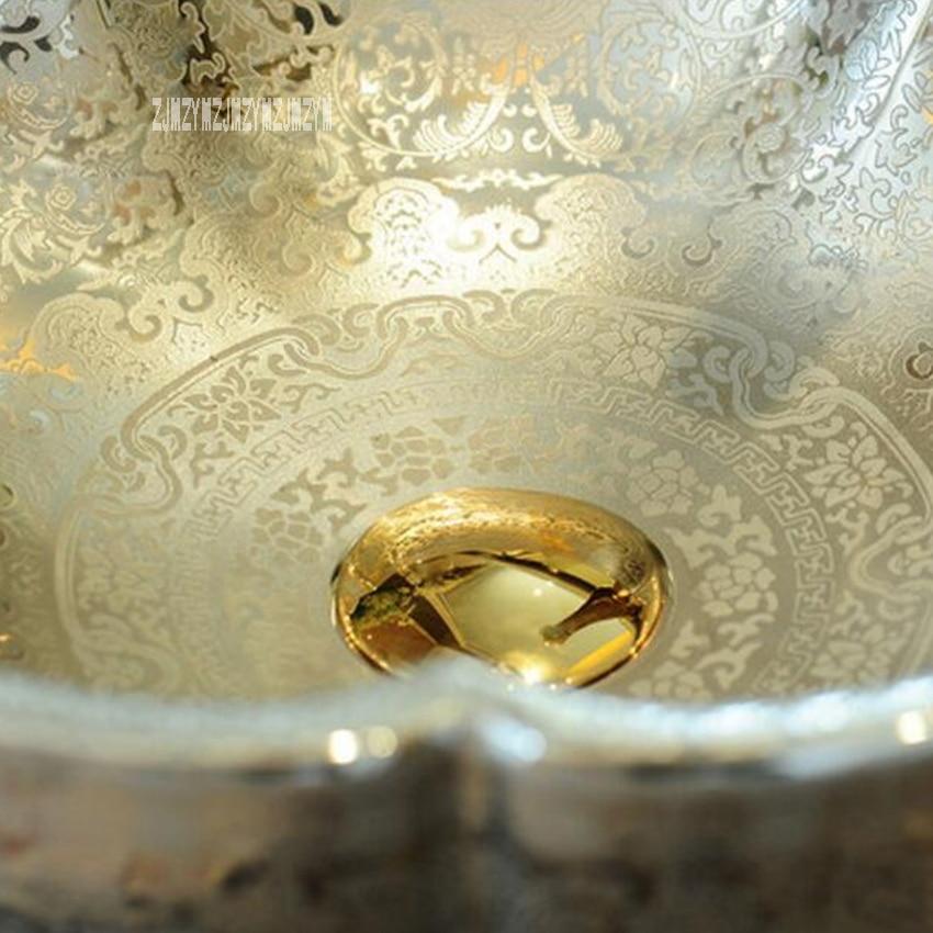Style européen en céramique au-dessus du comptoir bassin salle de bain lavabo de haute qualité Art ménager salle de bain évier bassin de comptoir yins230 - 4