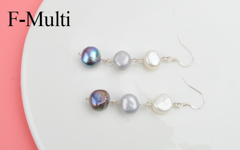 HTB14UsENPDpK1RjSZFrq6y78VXax - ASHIQI Natural Freshwater Pearl Earrings Real 925 Sterling Silver long korean earrings for Women Big Baroque pearl Jewelry Gift