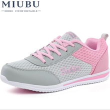 цены MIUBU New Summer Zapato Women  Breathable Mesh Zapatillas Shoes For Women Network Soft Casual Shoes Wild Flats Casual