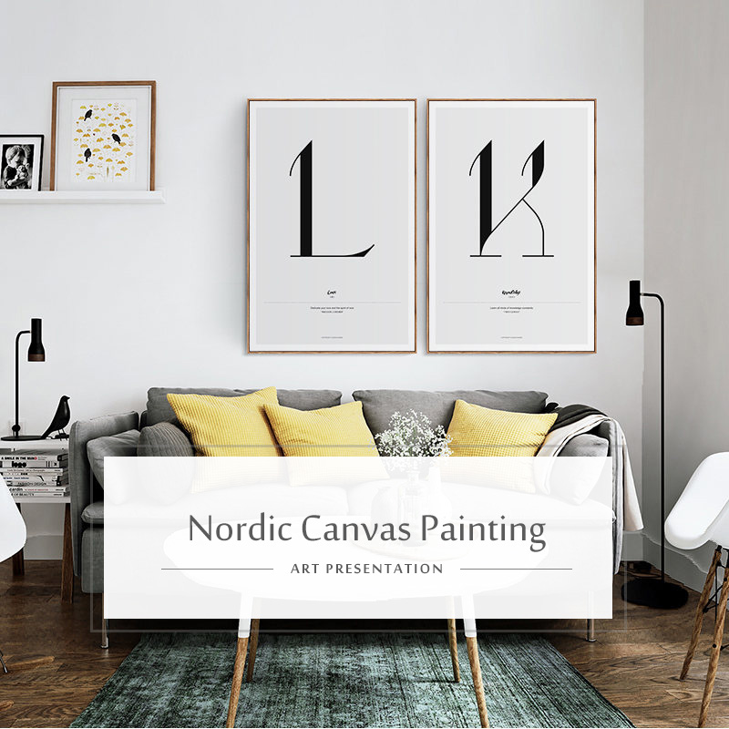 HTB14UsWUbPpK1RjSZFFq6y5PpXau Quote Words Nordic Art Home Decor Nordic Canvas Painting Wall Art Kids Bedroom Posters and Prints for Living Room Wall Painting
