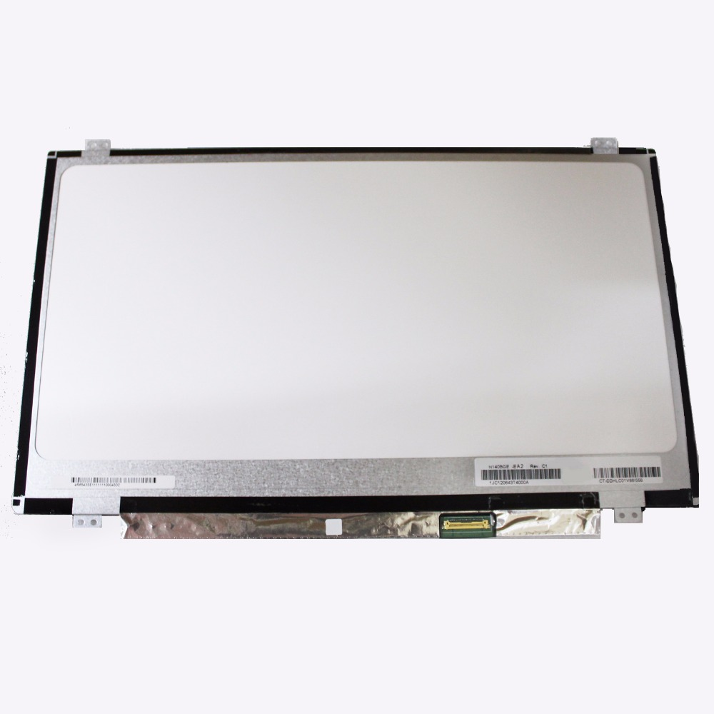 14.0 LCD Screen Matrix Display Replacement LTN140HL05-301 LTN140HL02-201 LP140WF3-SPL2 LP140WF3-SPL1 B140HAN02.1 B140HAN02.0