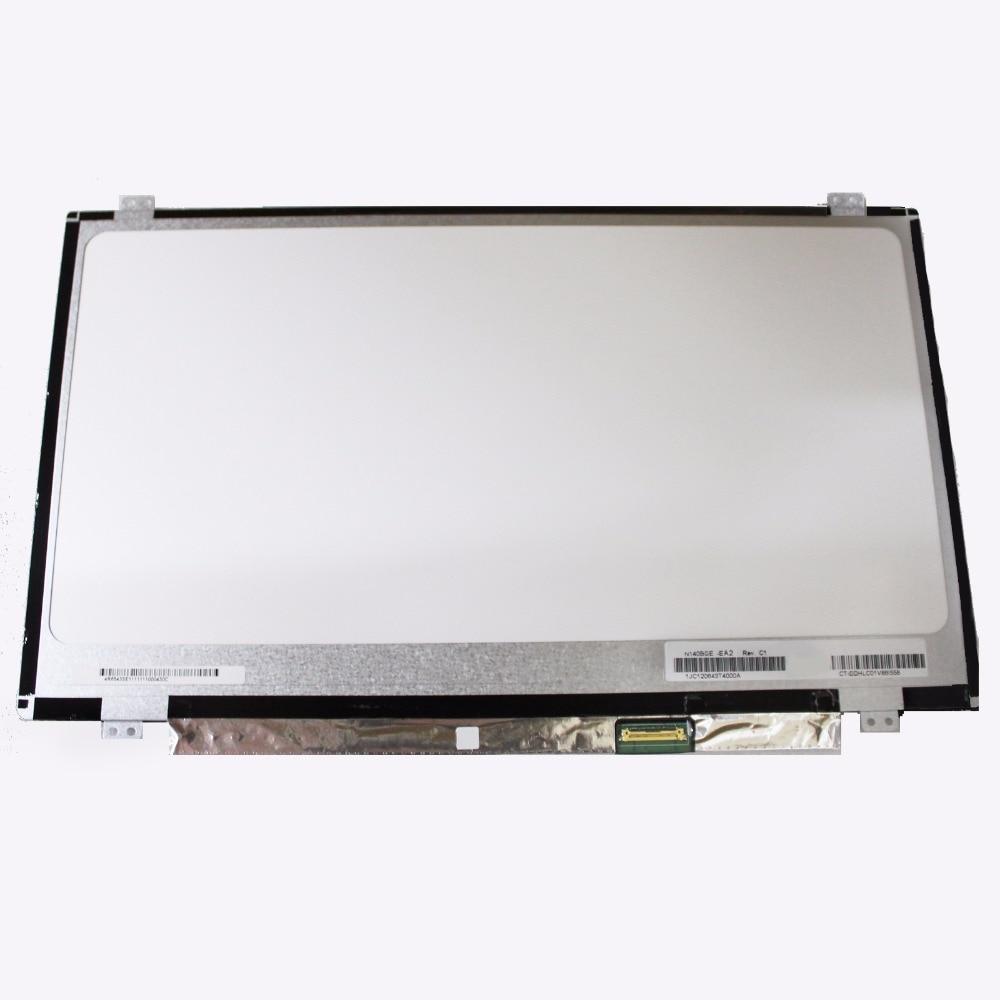 14.0 LCD Screen Matrix Display Replacement LTN140HL05-301 LTN140HL02-201 LP140WF3-SPL2 L ...