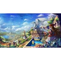 Full Diamond Painting The Anime Kingdom Diy Diamond Embroidery Cartoon Picture Decorated The Kid S Room