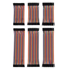 Breadboard Jumper Wires Ribbon Cables Kit