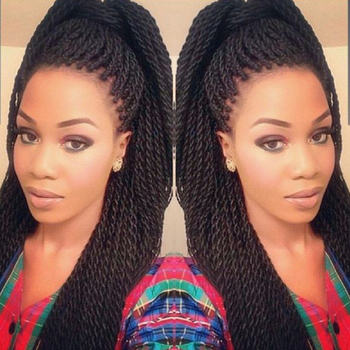 "TOMO 16"" 20"" 30strands Ombre Kanekalon Crotchet Braid Hair Extension Synthetic Senegalese Twist Dreadlock Box Braiding Hair"
