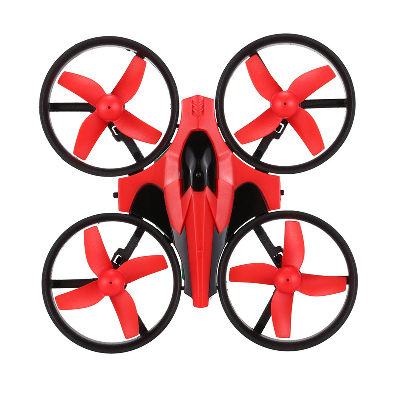Eachine E010 2.4G 4CH 4-Axis Gyro RC Quadcopter RTF UFO Mini Drone Helicopter with 3D-Flip/Headless Mode with extra Batteries