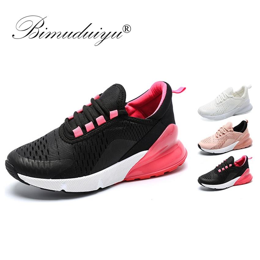 Platform Nero da Rosso rosa ginnastica nero Mesh Casual Bimuduiyu Scarpe da Flat Fashion traspiranti donna Spring Zapatillas Luxury bianco Scarpe Sneakers x4wgzaq