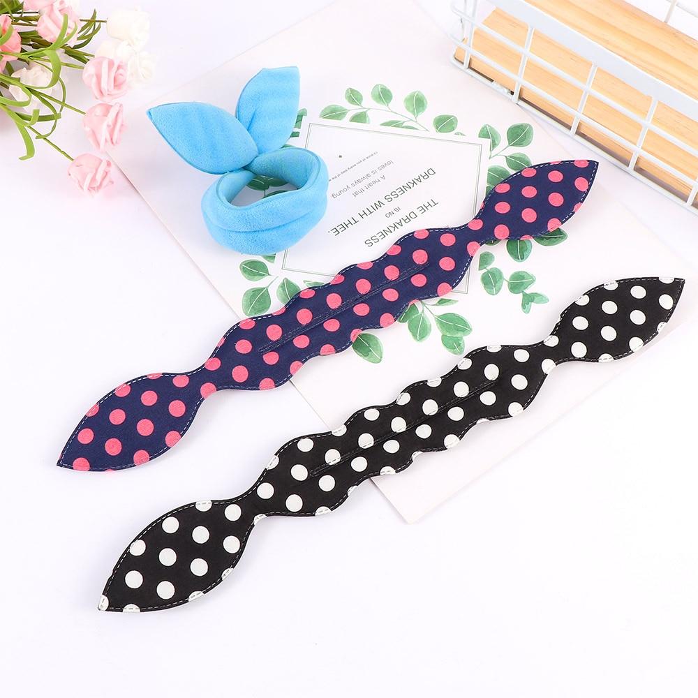 2 Pcs Magic Sponge Hair Twist Styling Clip Stick Bun Maker Braid Tool Hair Accessories For Baby Girls Headwear