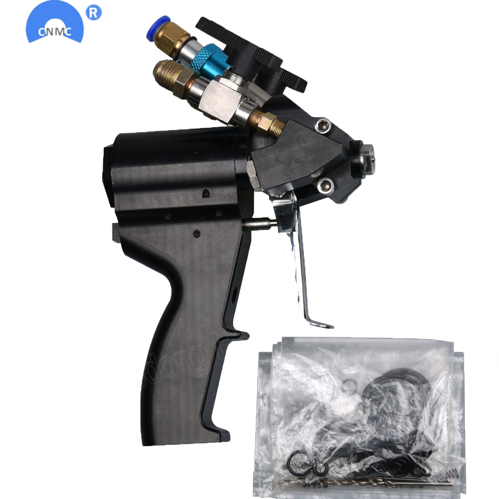 P2 PU spray De Espuma De Poliuretano arma Purga de Ar Pistola auto limpeza