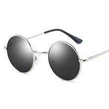Small Round Frame Sunglasses Retro Polarized Sunglasses Vintage Circle Gold Silver Blue Black UV400 Sun Glasses for Women Men все цены