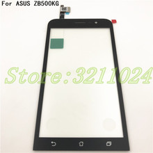 5.0'' For Asus Zenfone Go 5 Lite ZB500KG Digitizer Touch Screen Panel Sensor Lens Glass Replacement+Tools 15 6 touch glass digitizer lens for asus zenbook flip ux560 ux560ua q503 q524u q524uq laptop