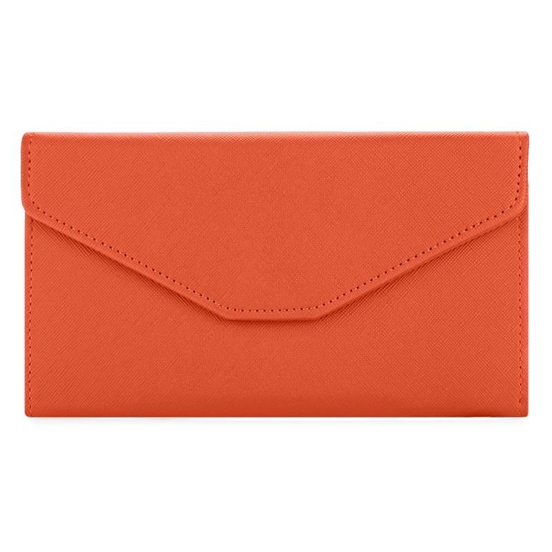 Korean Version Lady's Long Style Mobile Phone Envelope Purse Large Capacity Wallet Multi-purpose Passport Bag