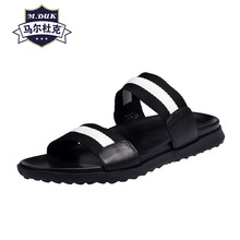summer sandals Sneakers Men Slippers Flip Flops casual Shoes beach outdoor anti-skid rivets fender men genuine leather slippers mens anti skid sandals fender summer men genuine leather slippers cowhide sneakers men flip flops casual shoes beach outdoor