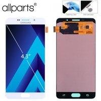 Оригинальный 5,5 ''Super AMOLED ЖК дисплей для SAMSUNG Galaxy A7 2016 ЖК дисплей Дисплей Сенсорный экран планшета замена A7100 A710F A710 ЖК дисплей