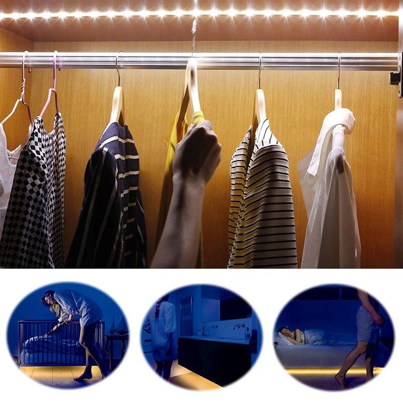Luzes da Noite armário roupeiro cama lâmpada Formato : Led Strip