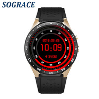 Sograce KW88 Smart Watch Android 5 1 IOS 1 39 IPS OLED Screen 512MB 4GB Smartwatch
