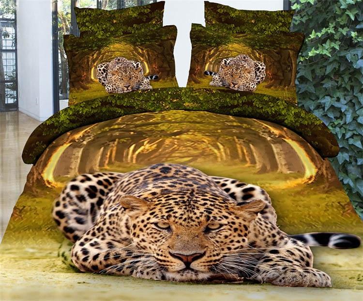 etude casa animal salvaje leopardo en terreno d juegos de cama ropa de cama hola ropa