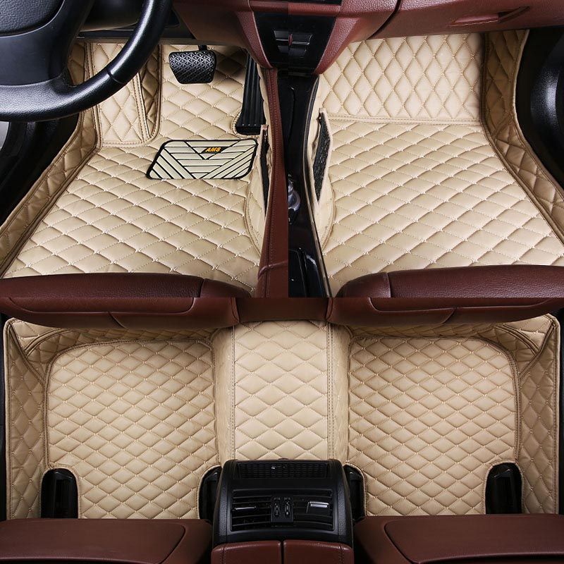 Car wind leather car floor mat for Subaru forester BRZ Outback Tribeca heritage xv impreza Forester rug Carpets car accessories car boot trunk net auto accessories for hyundai accent santa fe infiniti fx subaru forester impreza xv car accessories