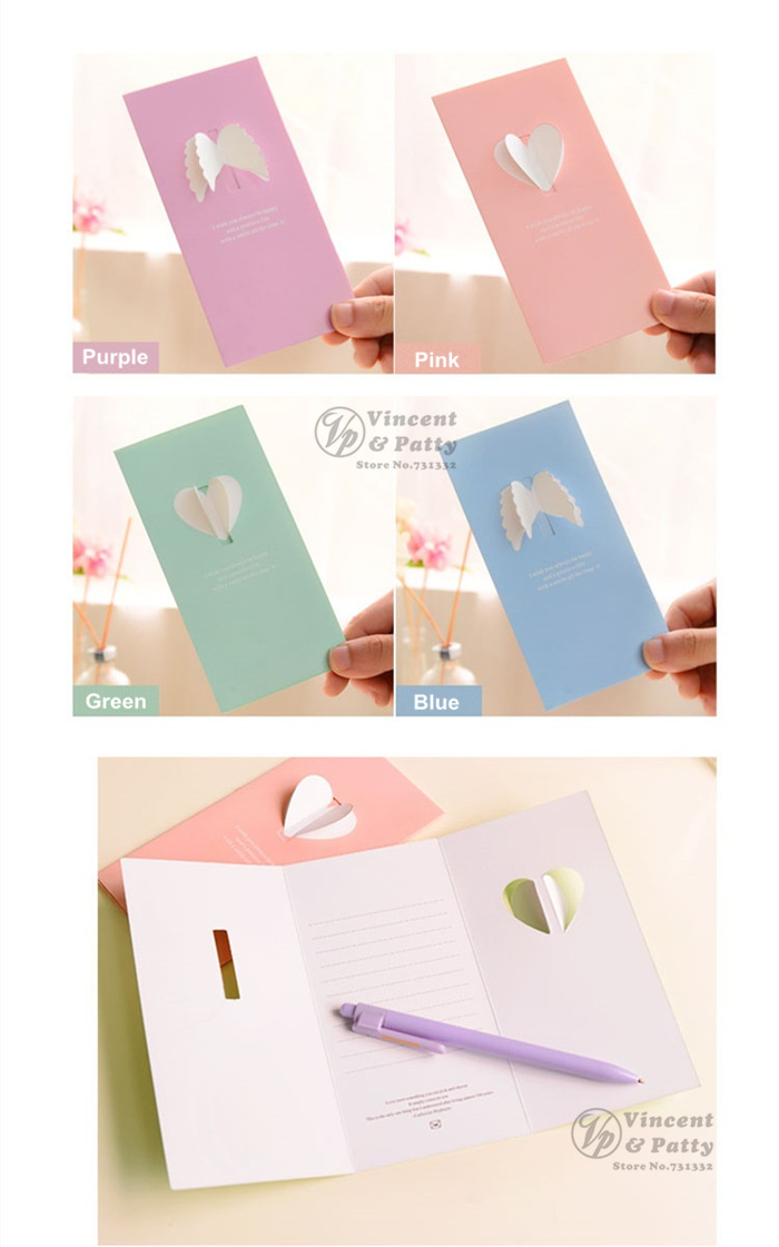 Aliexpress Buy 60 pcsLot Love wing Gift card Greeting card – Wedding Gift Card Message