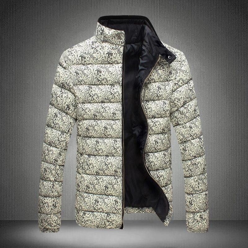 2016 erkek Giyim Manto ve Ceketler kış yeni moda sıcak kabanlar fermuar wadded ceket süper ince üst satış Aşağı & Parkas