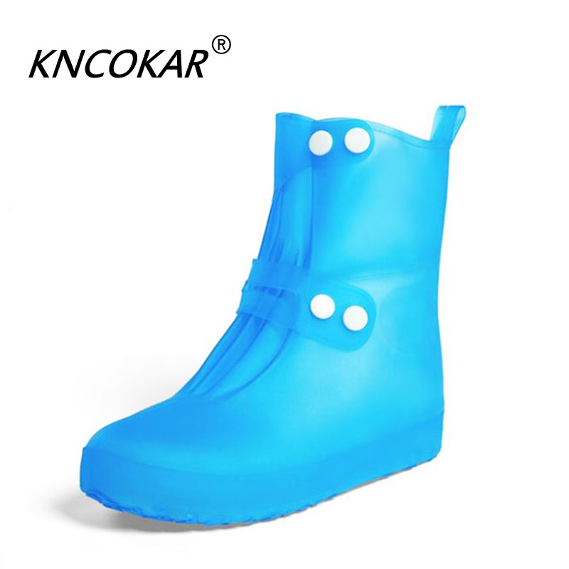 Waterproof Shoe Covers A Variety Of Color Quality Non-slip Rain Shoes Cover For Men Women Shoes Elastic Reusable Rain Boots