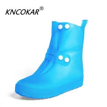 Color Hombres No De Una Lluvia Cubre Slip Zapatos Para Mujer Variedad Zapato Impermeable Elástico Cubierta Calidad f6gYyIvb7
