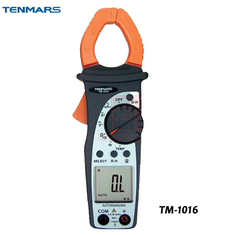 AC-HVAC 3 3/4 Clamp Meter AC DC Voltage Meter TM-1016 1658013 3