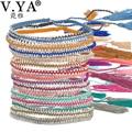 Multi Colorful Bracelets Bangles Boho Seed Beads Jewelry Summer Beach Female Tassel Bracelet Friendship Bracelets for Woman