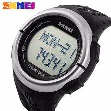 Hombres Deportes Relojes Del Ritmo Cardíaco del Pulso Calorías Contador Del Ritmo cardíaco Del Monitor Sphygmograph pulsómetro Pulso de Onda Del Reloj Relojes
