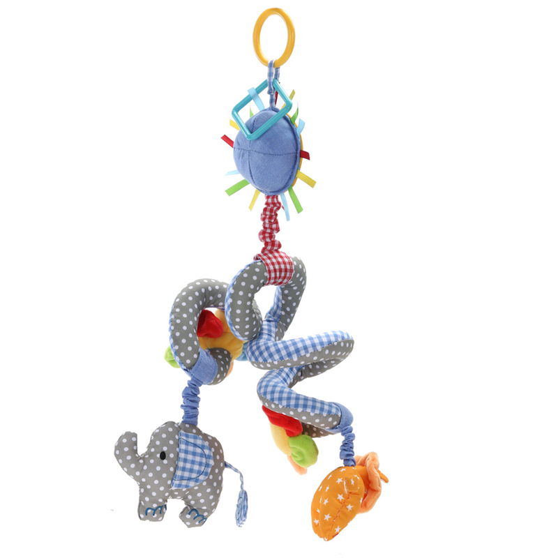 Twisty Spiral Rattle For Baby Free Shipping Worldwide