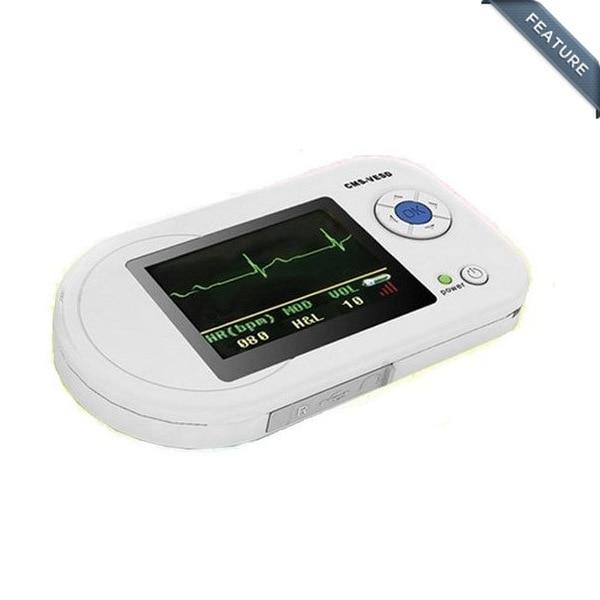 CONTEC CMS-VESD Visual Digital Stethoscope ECG SPO2 PR PR SpO2 PC software Diagnostic USB