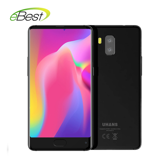 UHANS MX Bezeless 3G Smartphone 5.2 inch HD MTK6580 Quad Core Android 7.0 2GB+16GB 3000mAh 8MP Dual Rear Cameras Mobile Phone
