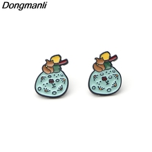 DMLSKY Cartoon Le Petit Prince Ear Stud Earrings Jewelry Prevent allergy Earring Pendant for Kids Girls M2141