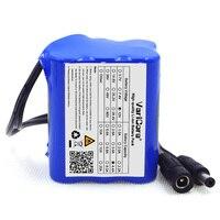 Varicore 4400 mah DC conector 12 v Super Bateria Recarregável Li-ion Battery Pack para 18650 4.4a