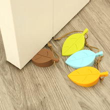 4pcs/lot Leaves Door Stopper Baby Anti Pinch Finger Protector Secure Door Clip Child Kids Safety Door Stops Free Shipping