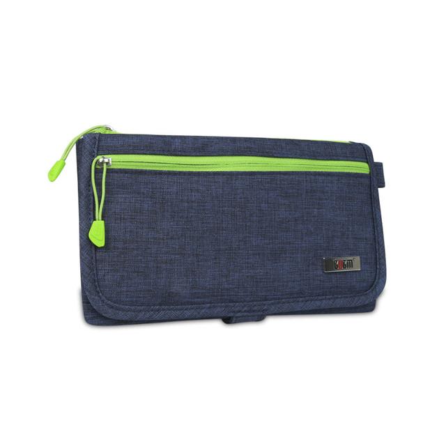 Unisex Waterproof Travel Protable Passport Business Card Storage Bag Wallet Purse Document Passport Holder Organizer Storage Bag