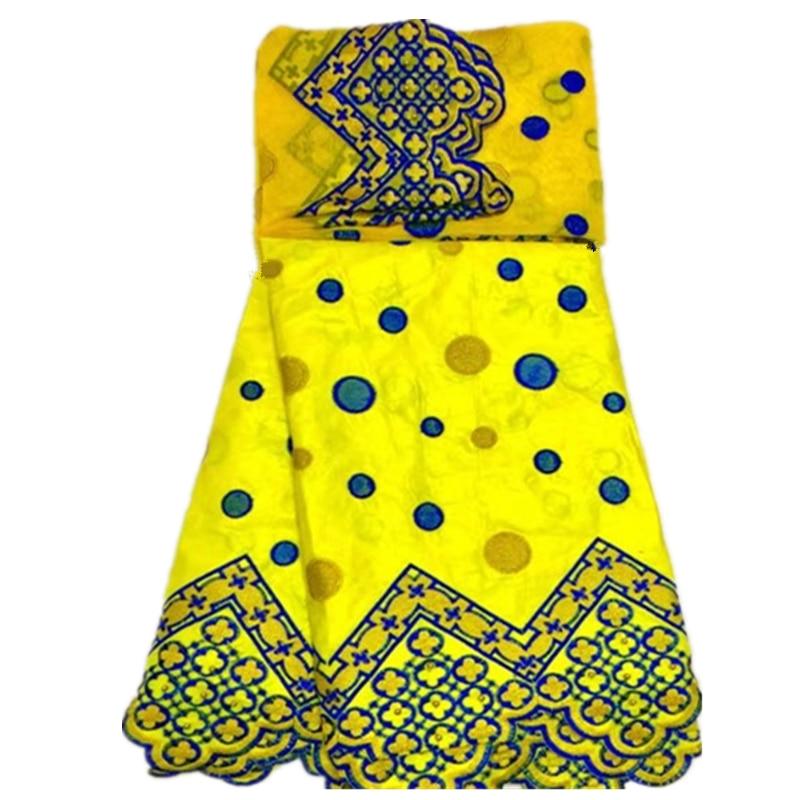 Nigerianische Bazin Stickerei Stoff mit Perlen Hochwertige schwarze - Kunst, Handwerk und Nähen - Foto 3