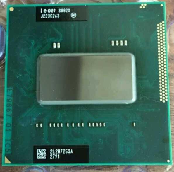 Intel Laptop Cpu I7 2860qm Laptop Cpu 2.5Ghz To 3.6Ghz 8M SR02X PGA988 Turbo Boost Support HM65 HM67 HM76 HM77 Chipset