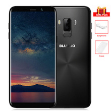 "Original BLUBOO S8 Plus 4G Handy 6,0 ""3D Gebogene 18:9 Display Android 7.0 Octa-core 4 GB + 64 GB 13MP Dual Hinten Cams MTK6750T"
