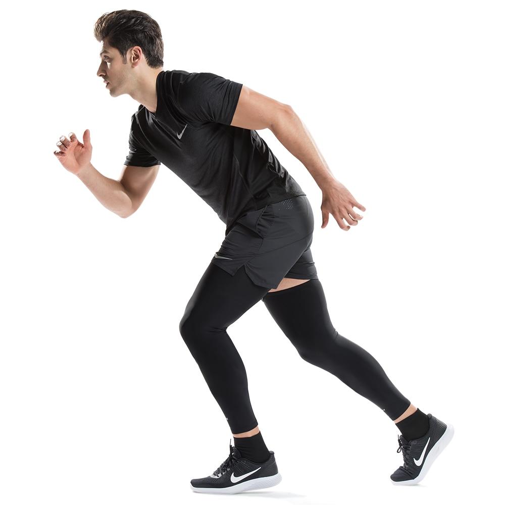 Kuangmi 2tk jalgade kokkusurumise varrukad jalgade pikkade - Spordiriided ja aksessuaarid - Foto 2