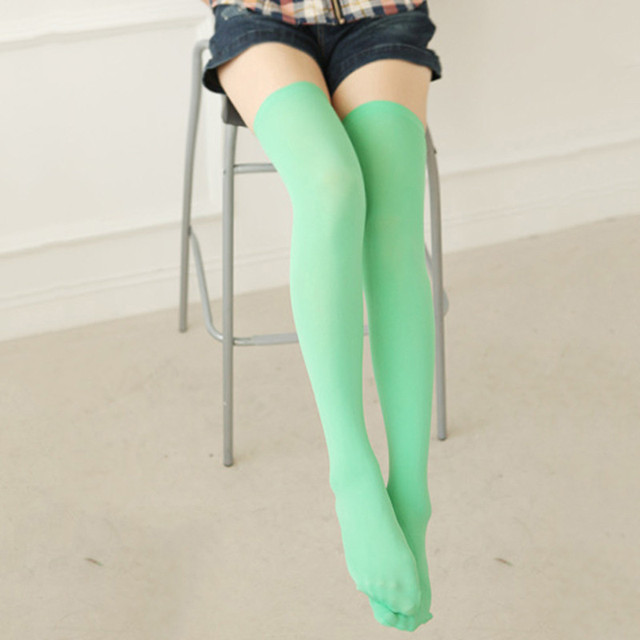 f432c624afc Hot Sexy Women Girl Thigh High OVER the KNEE Socks Cotton Stockings  Multi-Color