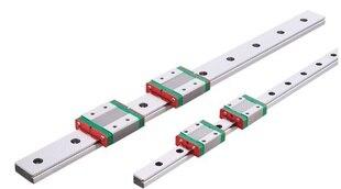 Nouveau guide linéaire miniature 15mm MGN15 L = 500mm rail + 2 pcs MGN15H bloc de CNC pour pièces d'imprimante 3D pièces de CNC XYZ