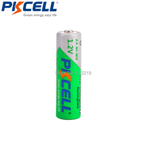 Image 2 - 10PCS PKCELL AA 2200MAH battery 1.2V NIMH aa Rechargeable Batteries 2A precharge LSD Batteries Ni MH for Camera toys