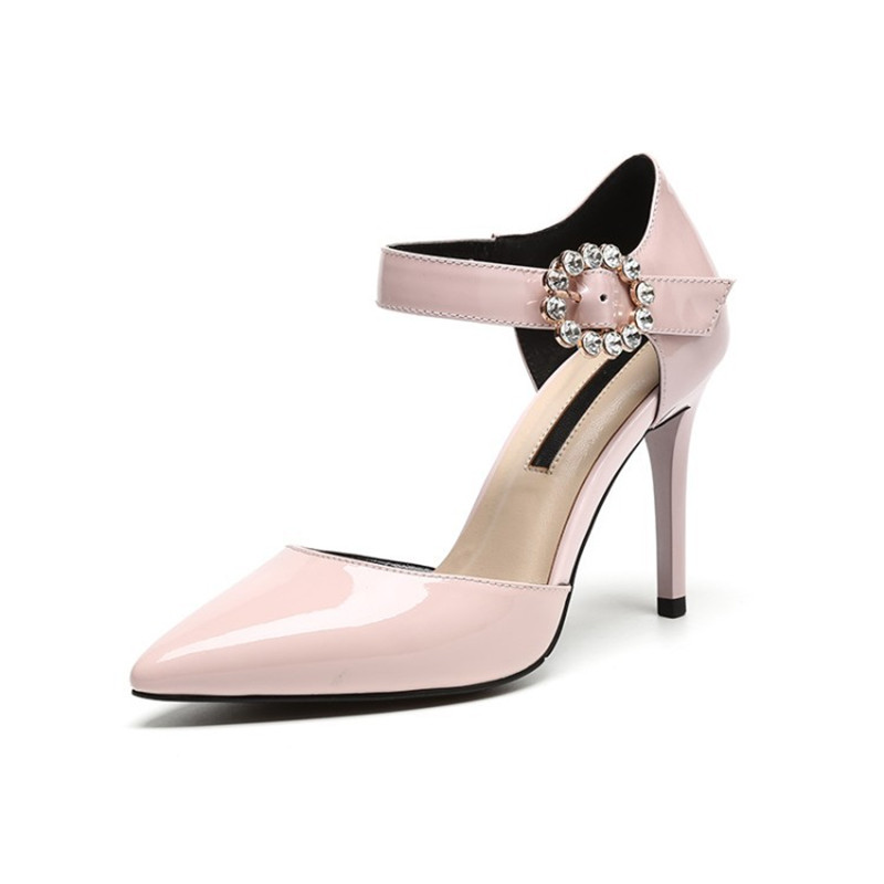 2019 spring and summer new pointed shallow mouth stiletto heels fashion womens shoes pink 04282019 spring and summer new pointed shallow mouth stiletto heels fashion womens shoes pink 0428