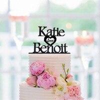 Personalized Wedding Cake Topper Custom Name Cake Topper Acrylic Wedding Anniversary Valentine S Day Cake Decoration