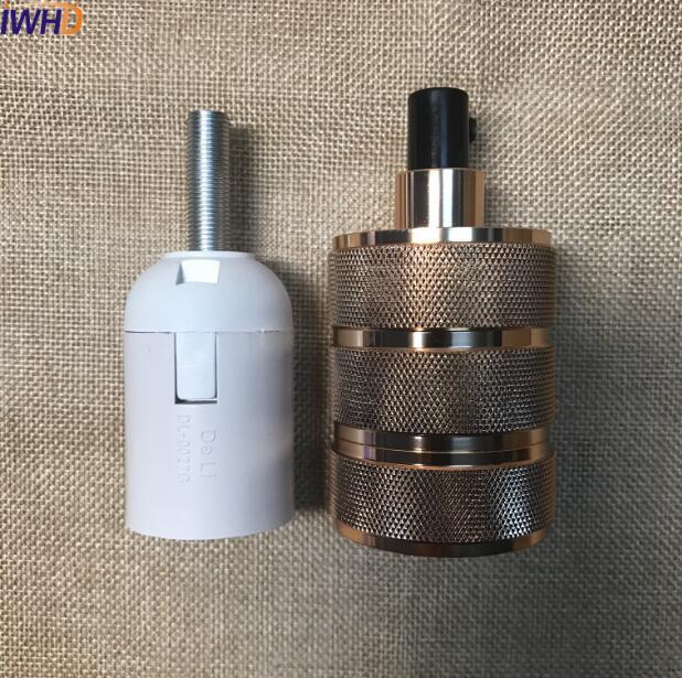 Soquete Douille E27, винтажный патрон, винтажный патрон E27, патрон для лампы, патрон Эдисона, патрон, промышленный ретро
