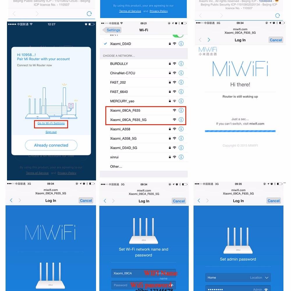 Xiao mi WiFi routeur sans fil 3G/4 867 Mbps WiFi répéteur 4 1167 Mbps 2.4G/5 GHz double bande 128 mo Flash ROM APP contrôle - 6