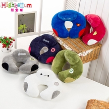 Neck Memory PP Cotton U Shape Hollywod Bed Travel Pillow Mom Nurse Baby On The Waist Neck Pillow 100% Cotton Softy Cartoon