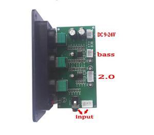 Image 5 - סאב NE5532 2.1 Preamp בקרת עצמת בס טרבל HIIF Loudsperker עם פנל אודיו Lossless מגבר כוח דיגיטלי