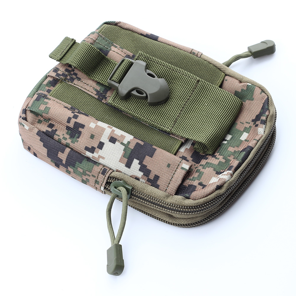 Outdoor Universal Army Tactical Bag Cell Phone Belt Loop Hook Case Pouch Holster Tool Parts Bag universal nylon cell phone holster blue black size l